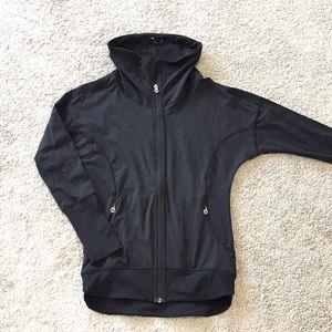 lululemon *Rare Black Jacket, Cool detail size 4